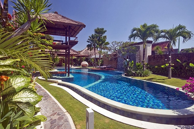 Pool in the backyard of Villa Asta, Rental Vacation Villa, Bali