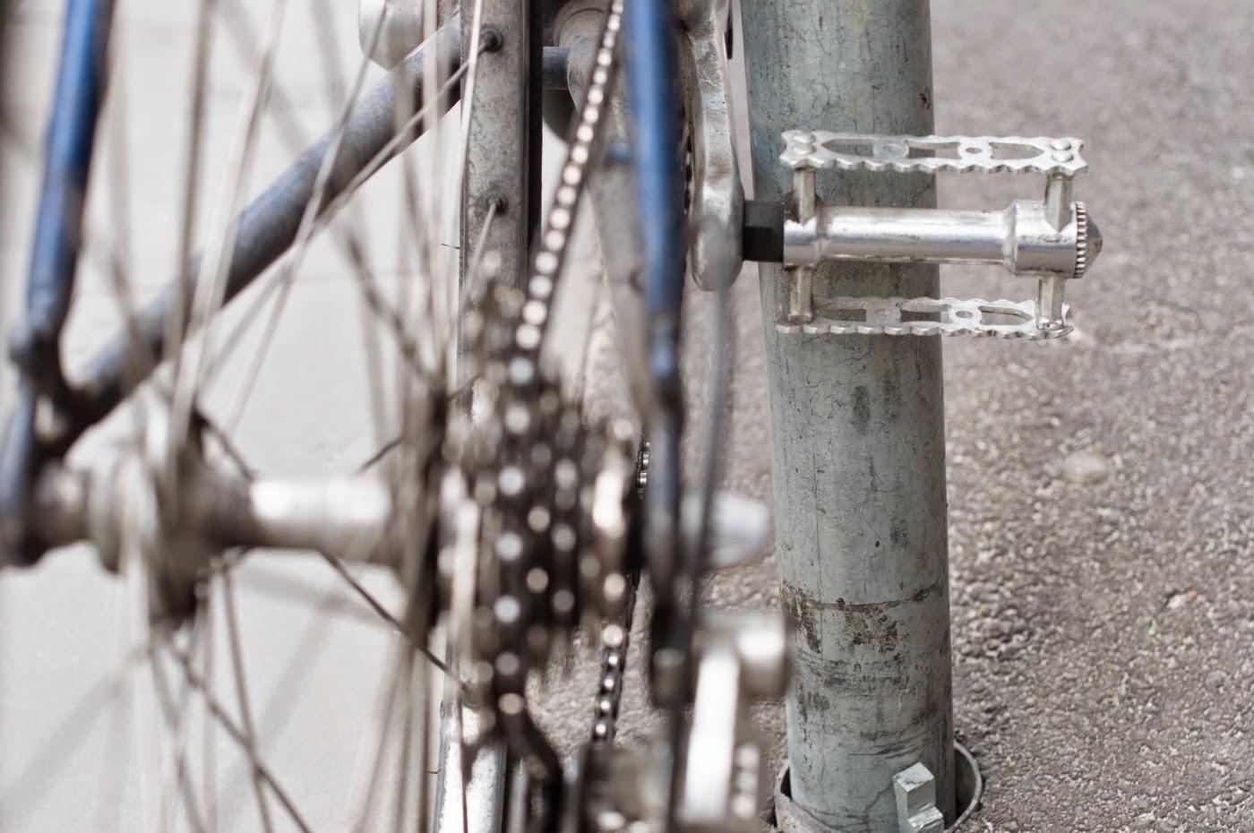 Nishiki, custom sport, 14 speed road bike, Swanston St, Melbourne, Australia, Tim Macauley, the Biketorialist, bespoke, frame, shimano 600