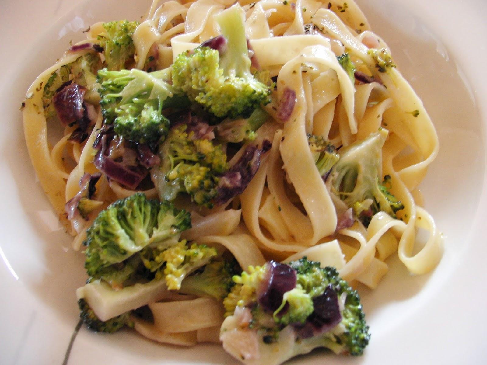 Cocinar sin sal tagliarines con br coli sin sal - Cocinar sin sal ...