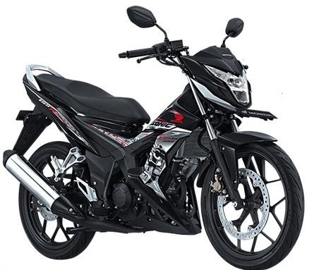 Honda new Sonic 2015-Hitam