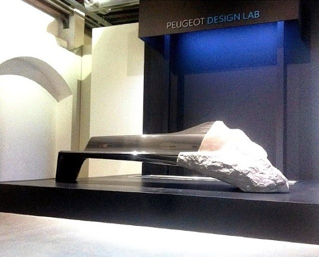 Milano Design Week 2014, PEUGEOT Design Lab, sofà ONYX, Salone del Mobile 2014