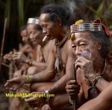 Pakaian adat suku samin