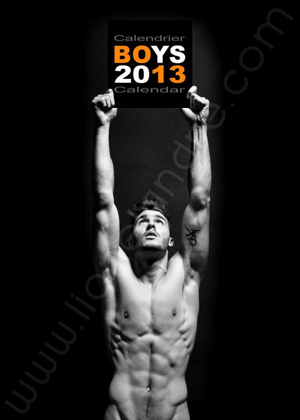 Arnaud Salivet • 'BOYS 2013' Calendar by Lionel André