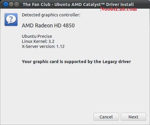 Install Amd Drivers Ubuntu 12.04