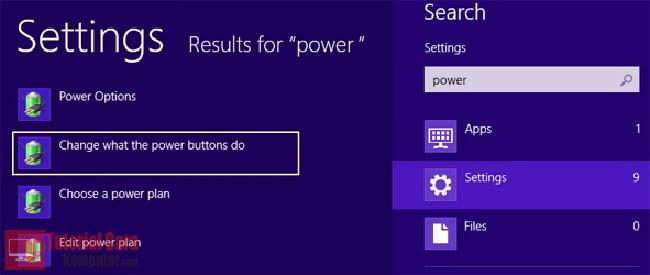 Tips Cara Memperbaiki Masalah Restart dan Shutdown di Windows 8 - TutorialCaraKomputer.com