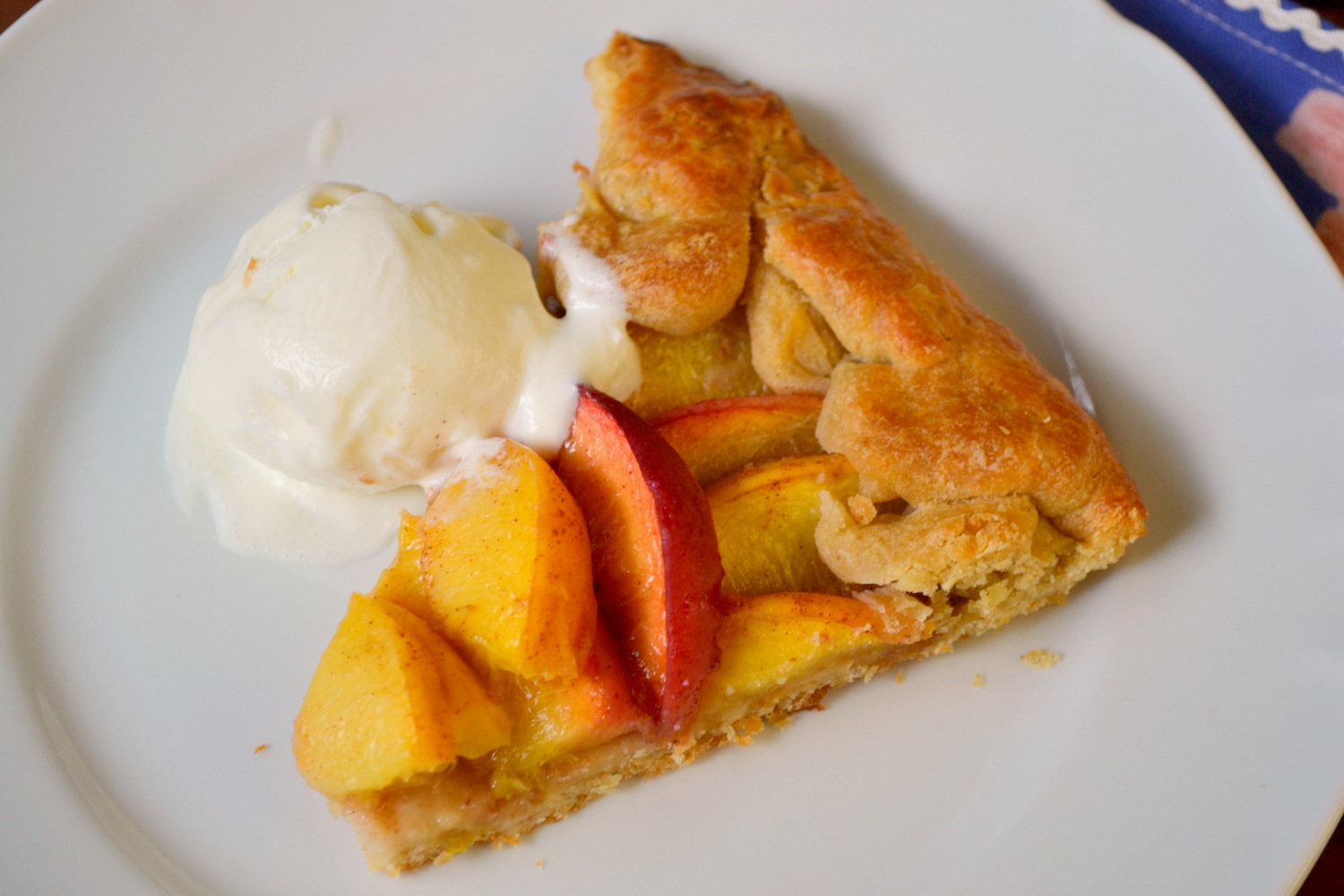 K&K Test Kitchen: Peach Galette