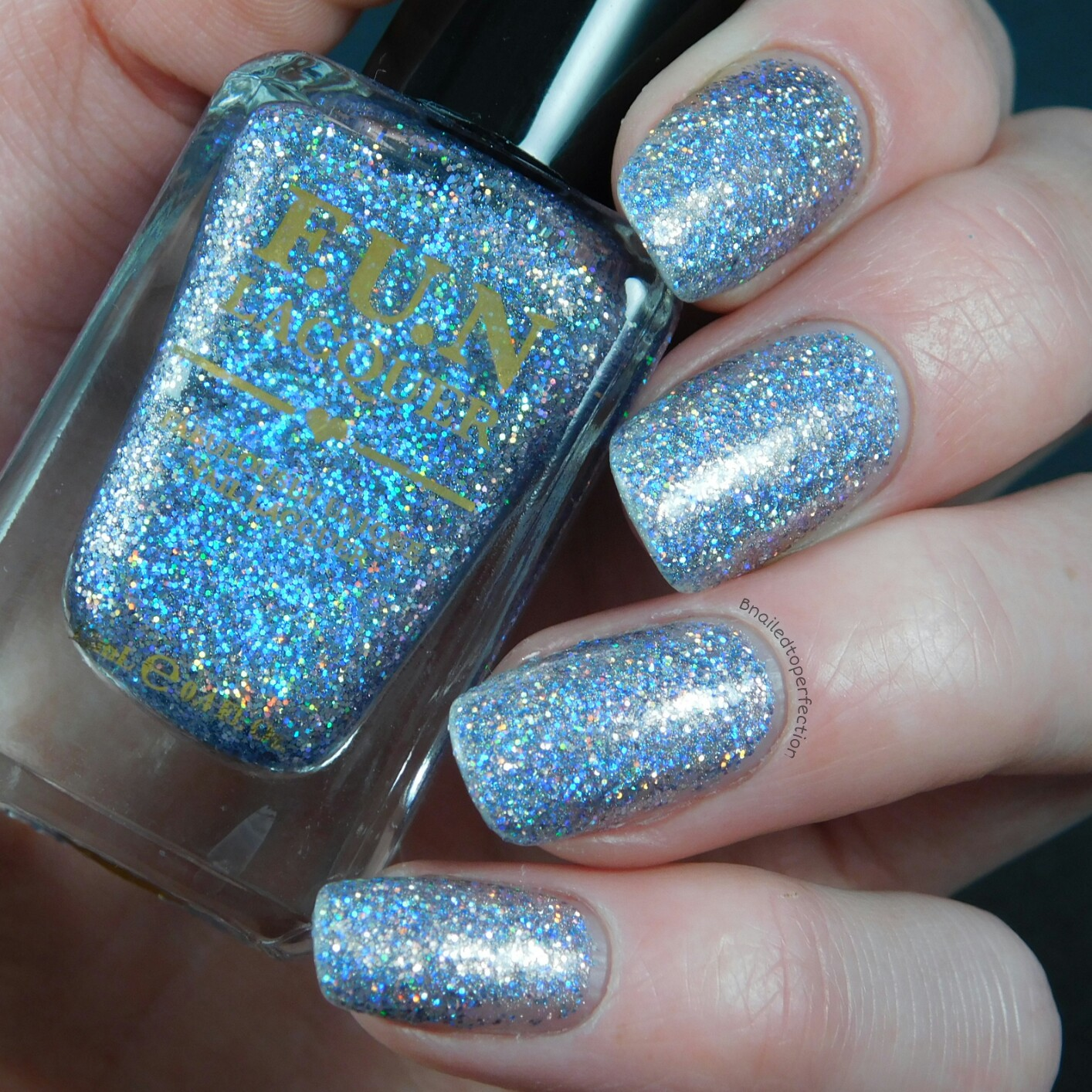 B Nailed To Perfection: F.U.N Lacquer The Art Of Sparkle (H) Swatches