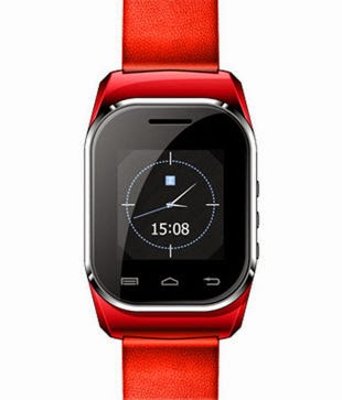 Buy Kenxinda Watch Mobile Dual SIM (Red) Rs. 2,999 only at Snapdeal.