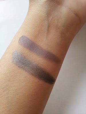 Maybelline color tattoo Immortal Charcoal Permanent Taupe swatch