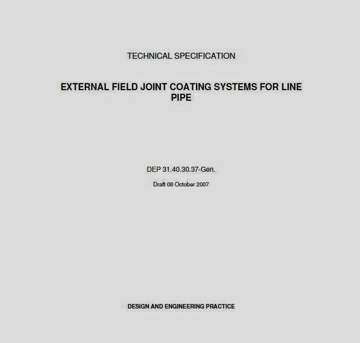 pipeline coating specificaiton