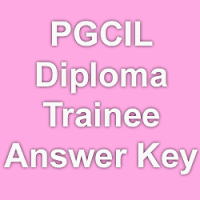 PGCIL Diploma Trainee Exam Answer Key 2015