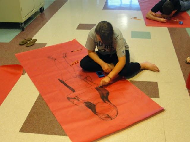 Art Of Apex High School Figure Drawing Life Size