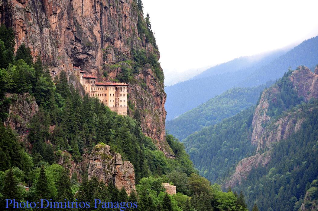 Orthodox Photos: The Sumela Monastery in Trapezounta ...