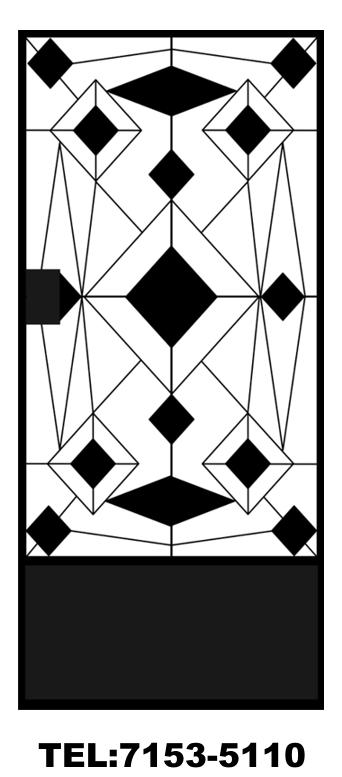Estructuras el salvador puertas metalicas decorativas for Puertas metalicas