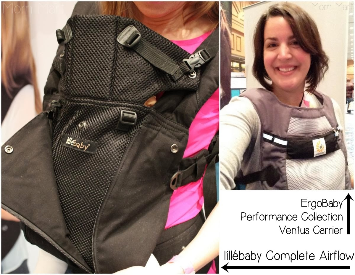 2014 ErgoBaby Carrier and lillebaby Carrier at #MommyCon #MommyConChicago #BabyWearing #ErgoBaby #lillebaby #PerformanceCarrier #CompleteAirflow