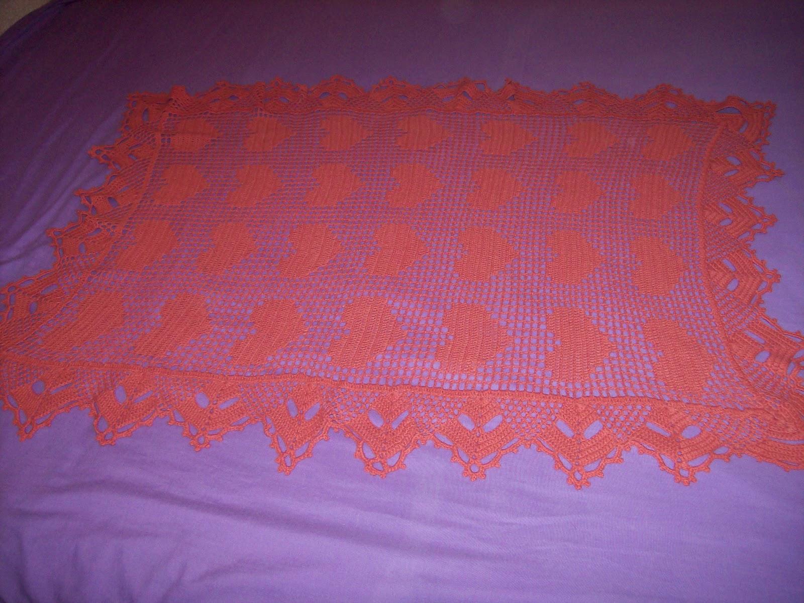 Las maravillas de alicia manta para beb for Mantas de lana hechas a mano