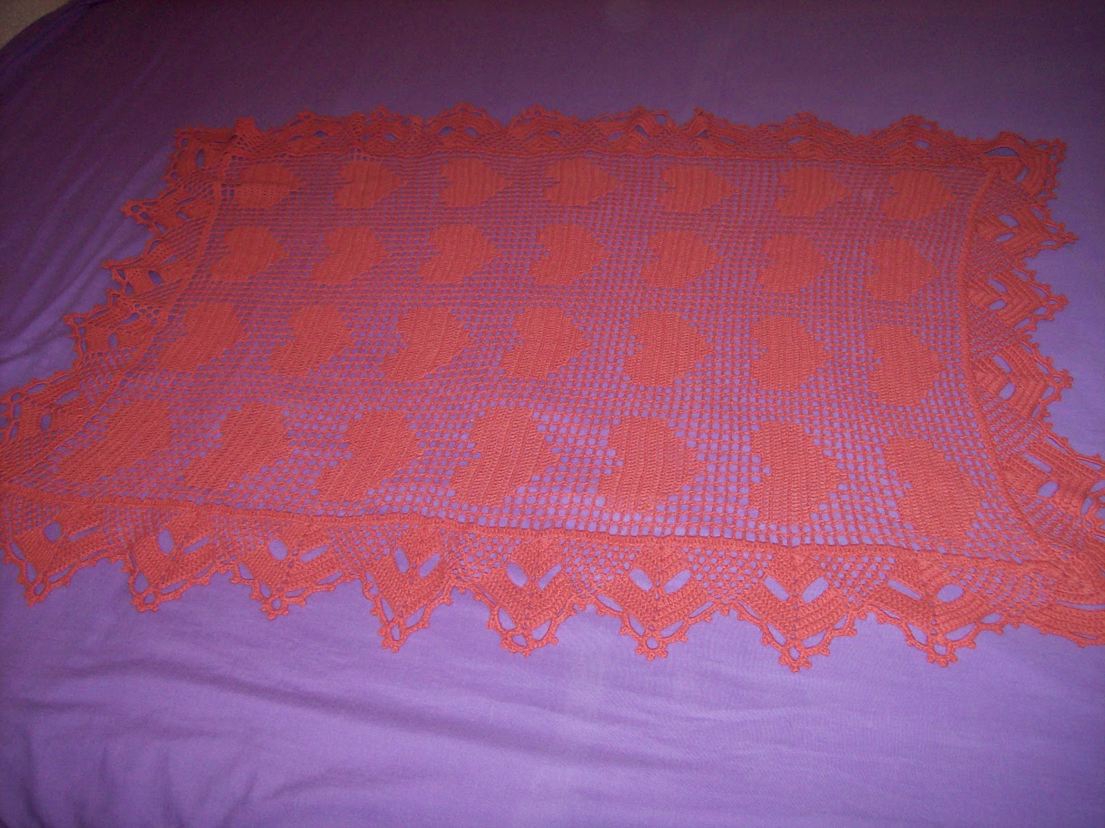 Las maravillas de alicia manta para beb - Mantas de lana hechas a mano ...