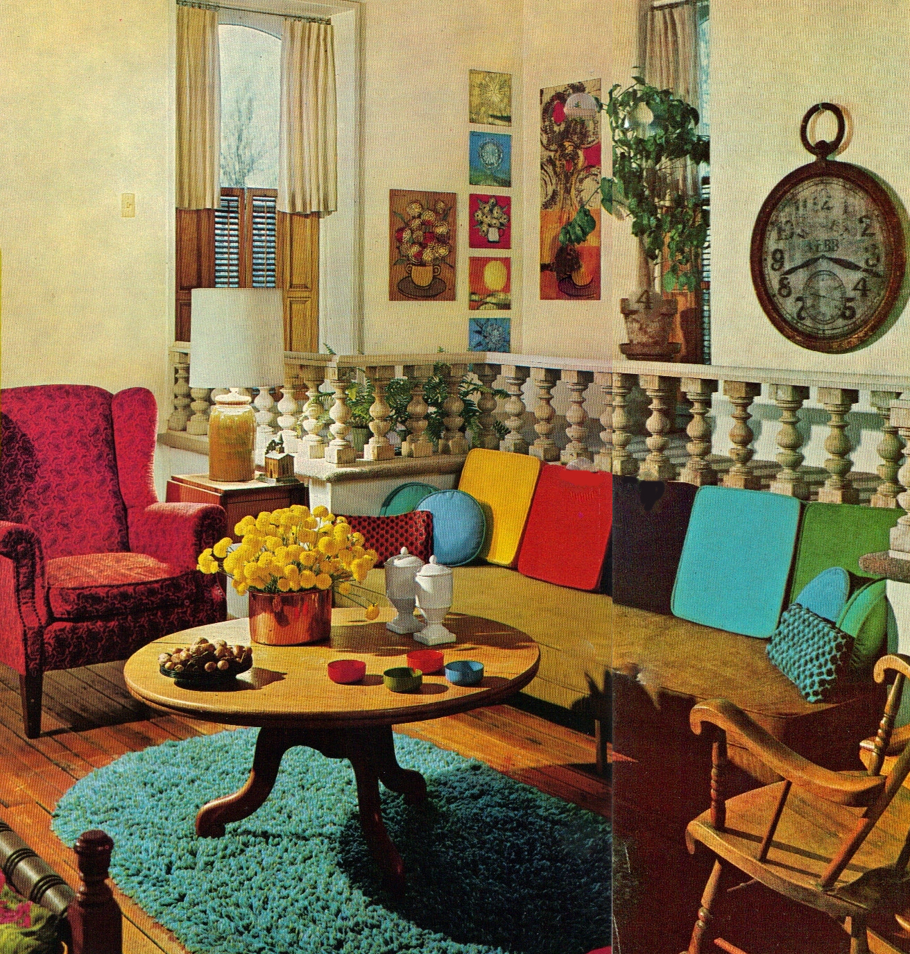 apartment 528 by the book 1968 bh g technicolor livingrooms