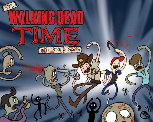 It's Walking Dead Time por RobertMakesStuff
