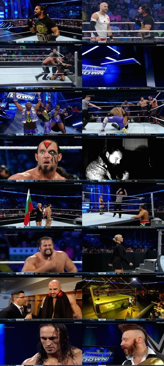 WWE Thursday Night Smackdown 30 July 2015 WEB Rip 480p