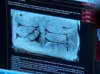 Fringe Nothing As It's Seems - Reborn sumeric symbol