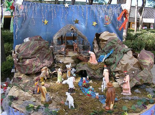 Toppytoppyknits christmas in july - Dibujos de nacimientos de navidad ...