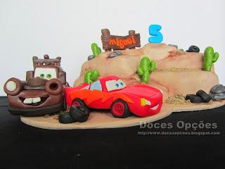 bolo carros corrida aniversário bragança