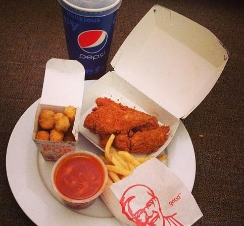 Daftar Menu dan Harga KFC Terbaru 2015