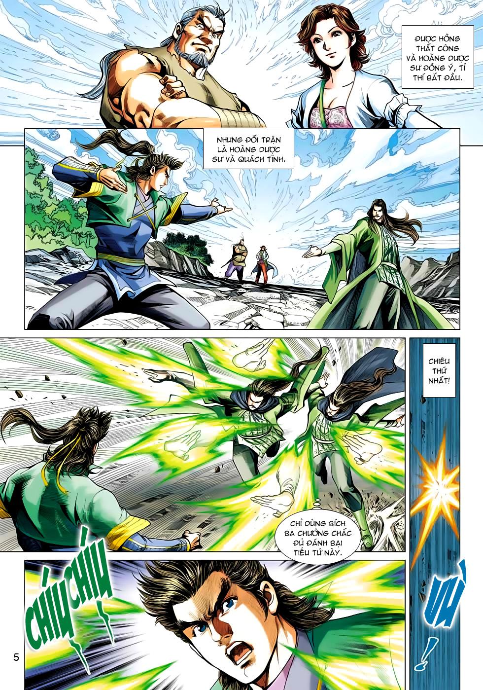 Xạ Điêu Anh Hùng Truyện chap 100 – End Trang 5 - Mangak.info