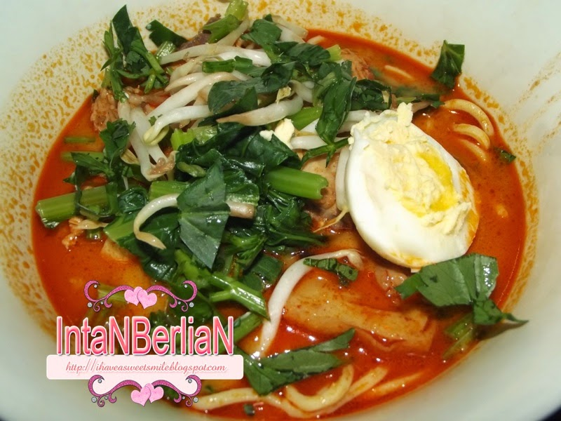 Mee kari simple tapi sedap