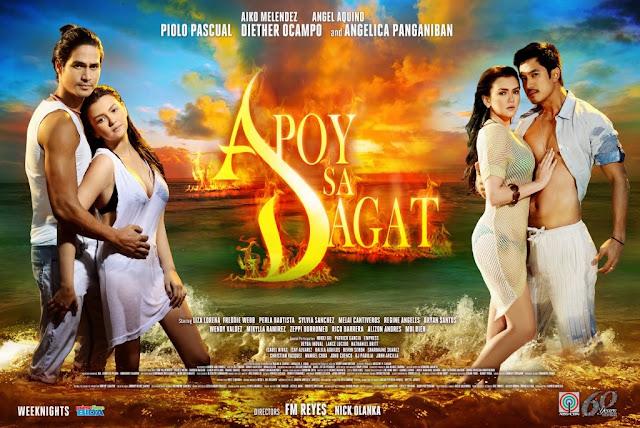 Apoy Sa Dagat official poster