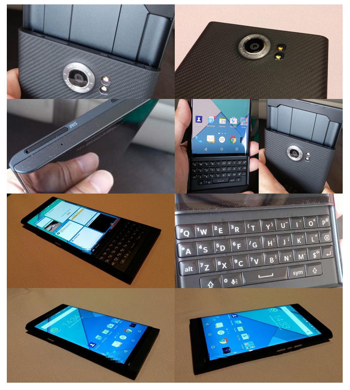 BlackBerry's Venice Slider