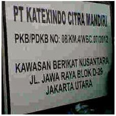 Lowongan Kerja PT Katexindo Citra Mandiri Kawasan Berikat Nusantara DKI Jakarta