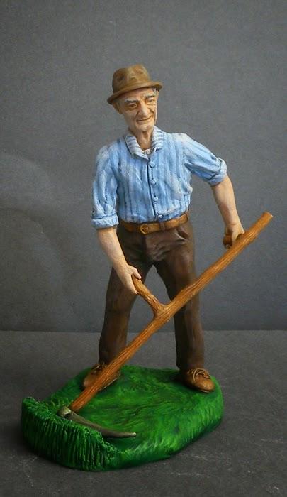 statuina presepe pastorello contadino pastorelli personalizzati orme magiche