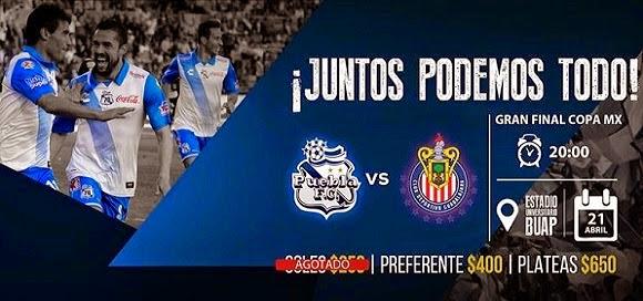 Puebla vs Chivas Copa MX 21-04-2015