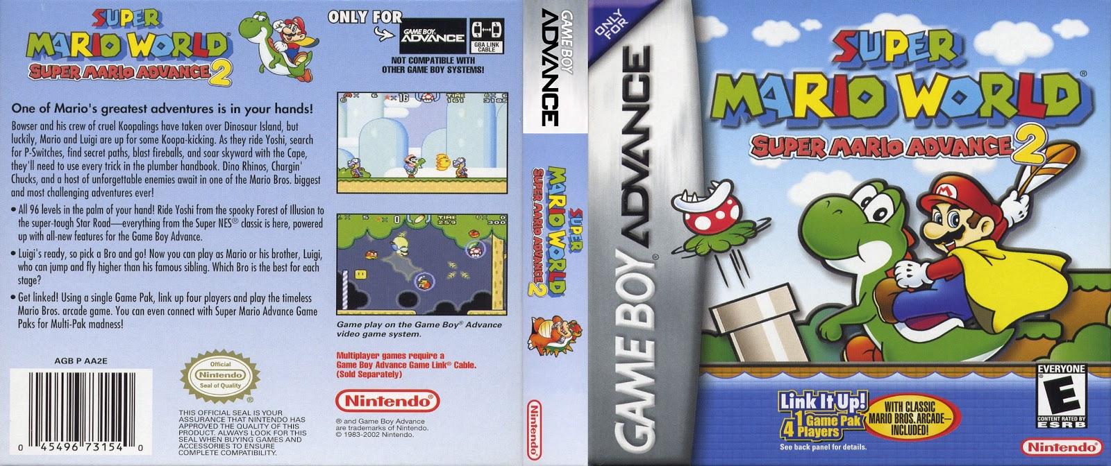 download super mario bros game boy advance