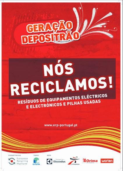 Campanha de recolha de pequenos e grandes eletrodomésticos e lâmpadas!