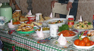 Russian Table - 10 Reasons I Love Novosibirsk