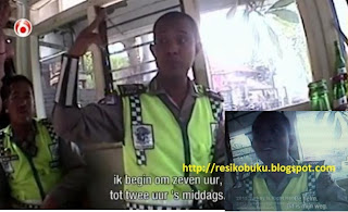 Polisi Bali di Video Korupsi Polisi Bali