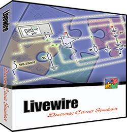 Software simulasi rangkaian elektronika LiveWire