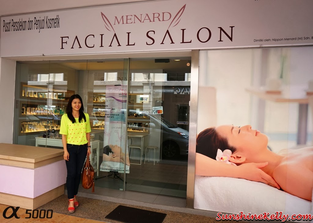 Facial Review, Menard Facial Salon, Plaza Damas, menard, lisciare, japan beauty, japanese beauty