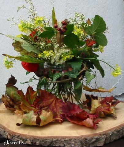 gk kreativ: Herbstdekoration