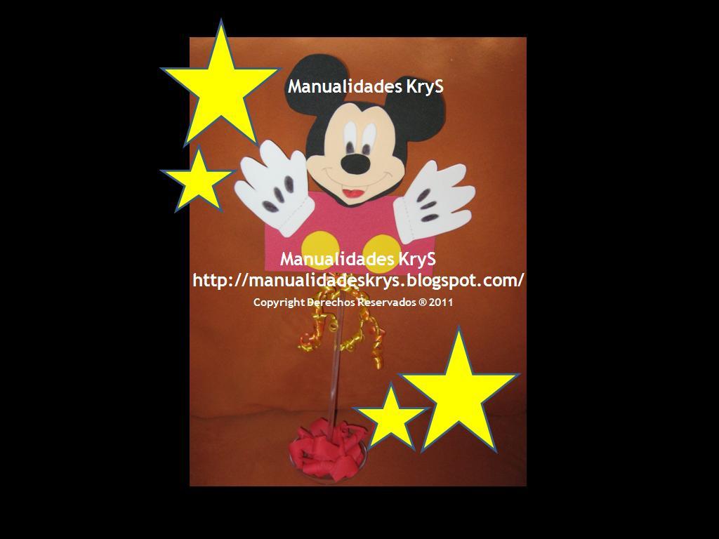 para cumpleaños en general para niños personaje de mickey mouse