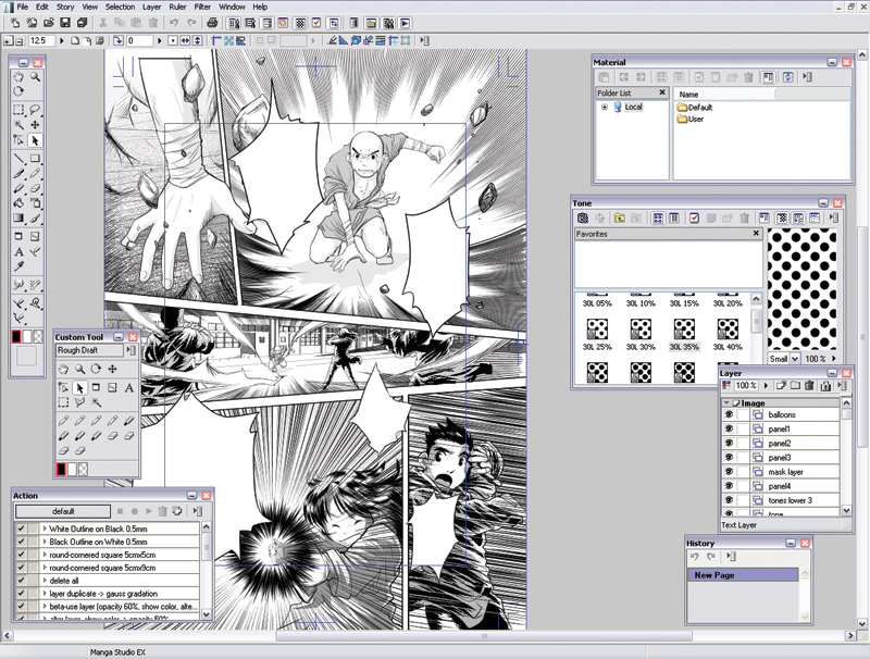 Asakura 39 S Dark Fantasy Manga Studio Ex4 Free Download