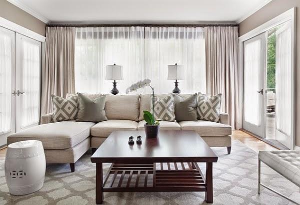 Vẻ đẹp của ngôi nhà với đồ nội thất trung tính