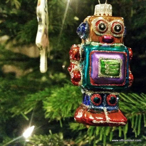 Robot tree decoration
