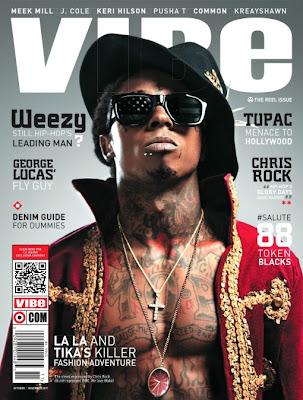 Lil' Wayne en couv' de Vibe Magazine