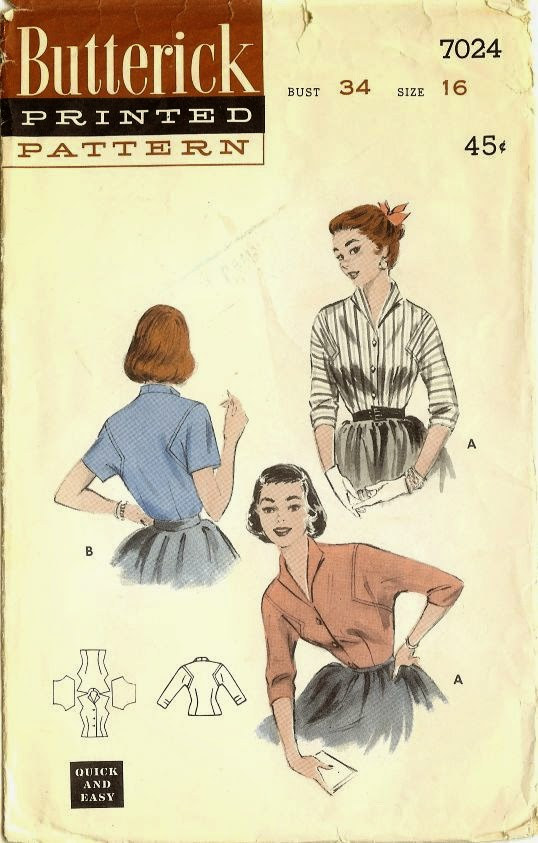 https://www.etsy.com/listing/182843739/50s-blouse-pattern-butterick-patterns?