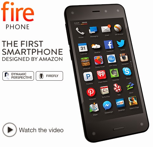 Spesifikasi dan Harga Amazon Fire Phone