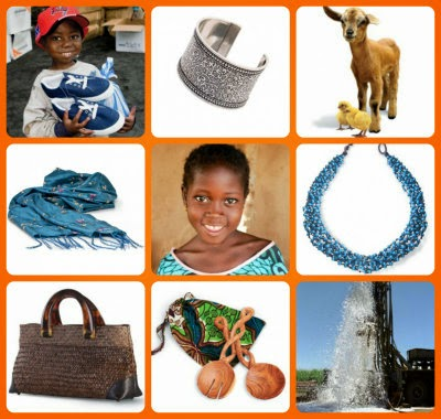 world vision gift catalog 2014 collage